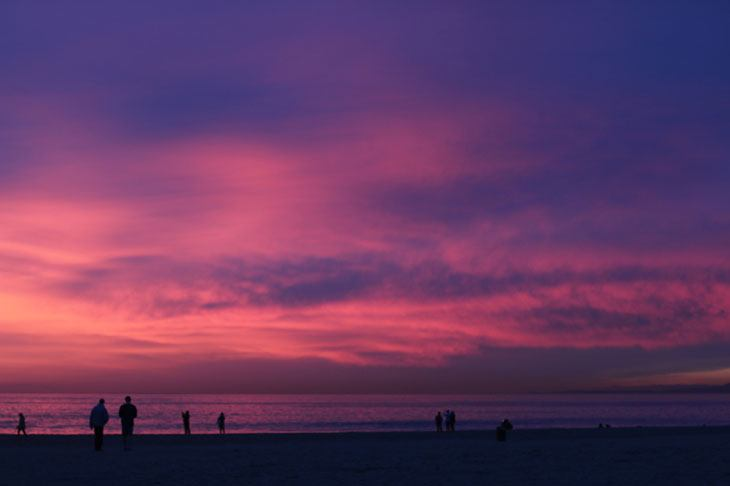 venice, california, sunset